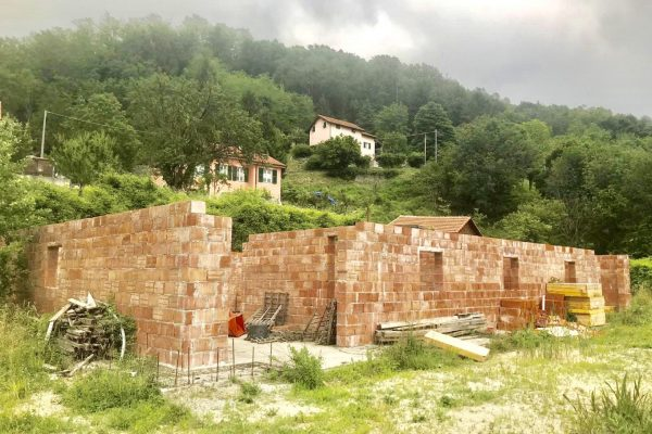 Villa in costruzione Campomorone