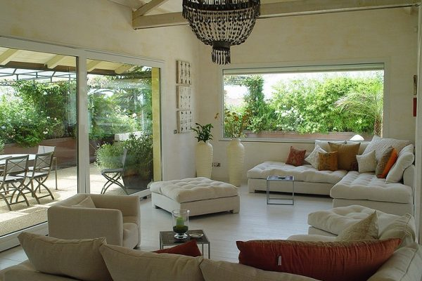 Bilocale con terrazzo e giardino Albaro