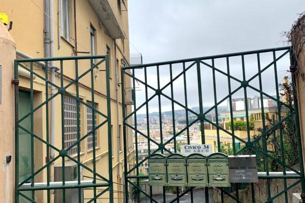 Magazzino/ cantina carrabile Albaro via Trento