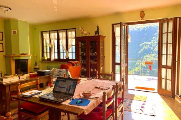 Appartamento indipendente con giardino -terrazzo-box Bargagli